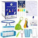 Babyhelen Kids Lab Coat with Science Experiment Kit, 25 Pcs STEM Science Experiment Kits for kids Educational...