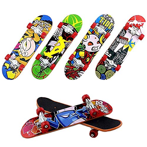 Lifesongs Finger Skateboard,Mini Fingerboards Skateboard Dekoration Exquisite Neue Skatepark Spielzeug Für Kinder