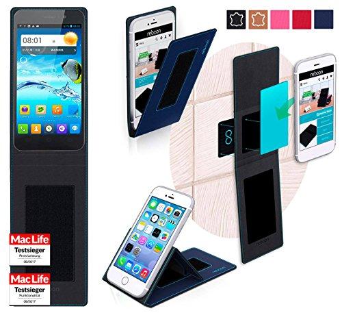 reboon Hülle für JiaYu G4 Advanced Tasche Cover Case Bumper   Blau   Testsieger