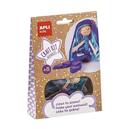 APLI Kids 17147 - Craft Kit Sirena azul