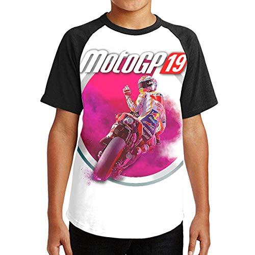 maichengxuan Camiseta de MotoGP 19 en Particular para Adolescentes y niñas