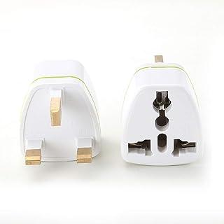Tianbi UK 3-pins stekker USB-netlader adapter, multi-standaard adapter plug UK oplader adapter multi-country serie convers...