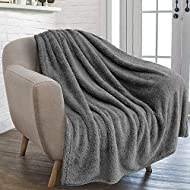 furrybaby Premium Fluffy Fleece Dog Blanket, Soft and Warm Pet Throw for Dogs & Cats (X Large (105x1...