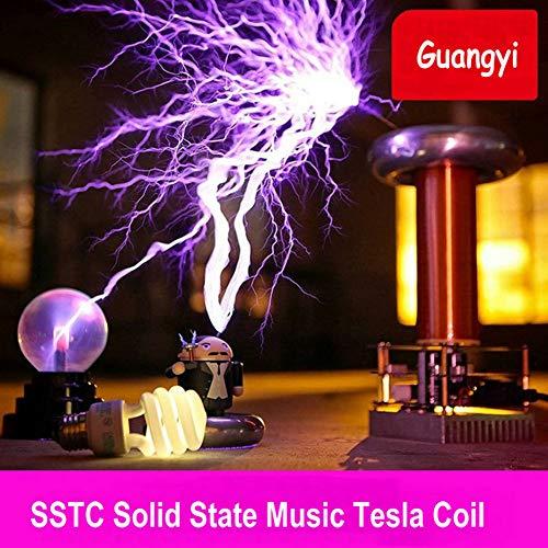 WIEUR Musik Tesla Coil Kit SSTC Tesla Blitzsturm Tesla-Spule Hersteller von künstlichen Blitzen