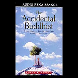 The Accidental Buddhist audiobook cover art