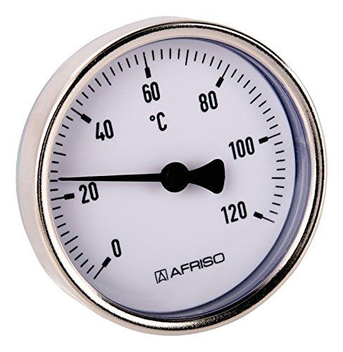 Sanitop-Wingenroth 27147 9 Bimetall-Zeigerthermometer 120 Grad C