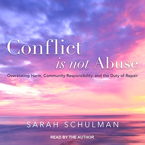 Conflict Is Not Abuse audiobook cover art