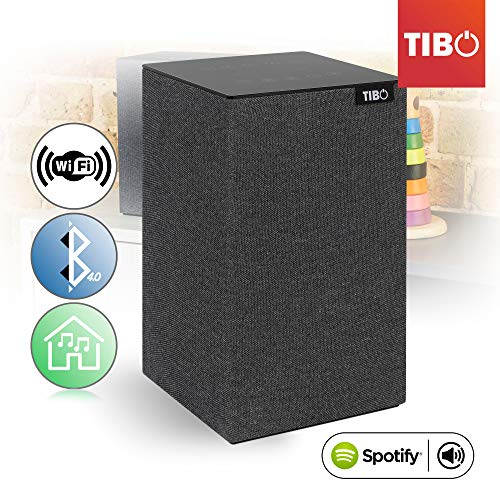 TIBO Choros 4 |Wi-Fi & Bluetooth Speaker | Multi Room Hi-Fi Speaker with...