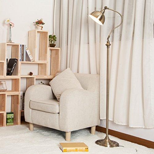 Staande lamp, voor woonkamer, slaapkamer, studeerkamer, bank, Iron, verticaal, E27, 60 W, 220 V LED
