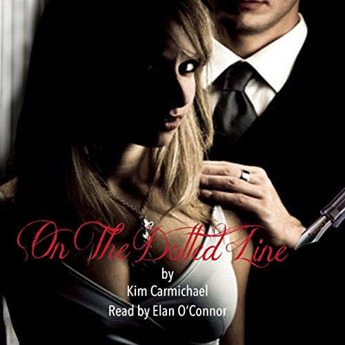 On the Dotted Line audiobook cover art
