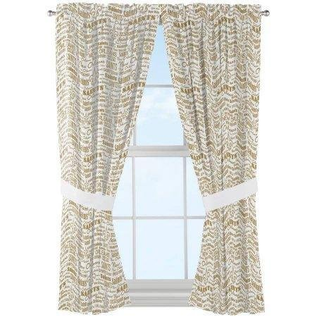 The Northwest Company NFL New Orleans Saints Anthem Window Curtain Panels - Set of 2-36