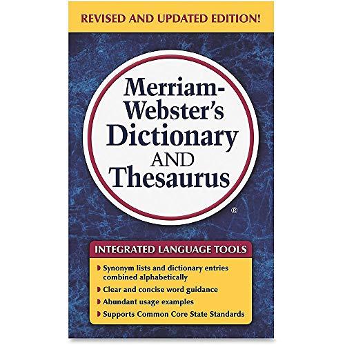 Merriam Webster Merriam-Webster Dictionary/Tesauro Libro impreso