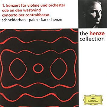 Henze: Violin Concerto No.1; Ode to West Wind; Double Bass Concerto