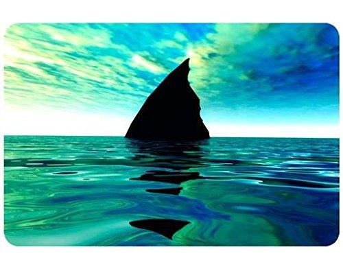 Selbstklebendes Wandbild Shark Attack Haifische Der weiße Hai Ozean Meerestiere, Größe:108cm x 162cm