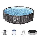 Steel Pro MAX 14' x 42'/4.27m x 1.07m Pool Set