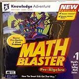 Math Blaster Pre-Algebra Software CD Game WIN 98 95 Power Macintosh