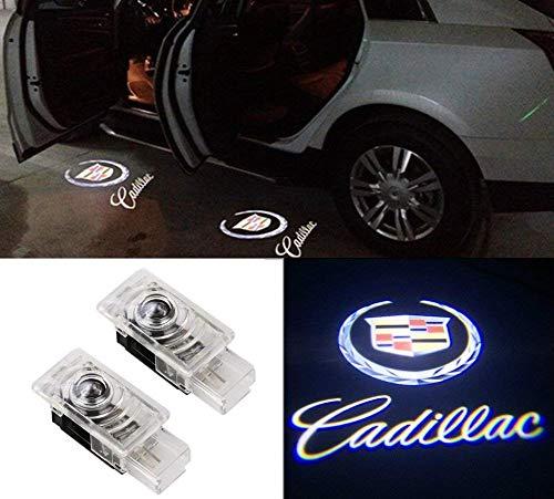 MIVISO Autotür Lichter LED Logo Projektor Ghost Shadow Lampe Symbol Emblem Courtesy Schritt Licht Einfache Installation