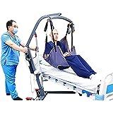 LHZHG Arnés para traslados, Cinturón de Transferencia - Grúa de Paciente - Paciente Cinturón De Transferencia para Bariátrico, Enfermería, Anciano, Discapacitado, Cuerpo Completo Y Postrado En Cama