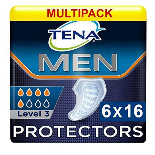 TENA - Toallita para incontinencia, nivel 3, para hombre