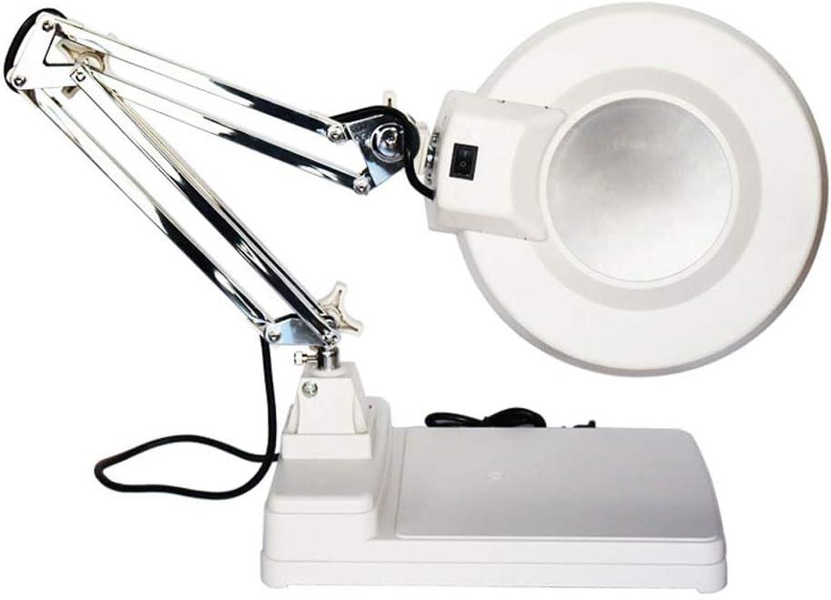 INTBUYING 110V Table Magnifier Lamp Regular discount Daylight B Amplification Manufacturer OFFicial shop LED
