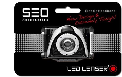 LED Lenser 0375 Bandeau Lampe Frontale Ampoules, Gris