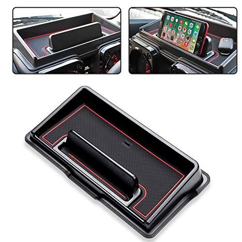 Dashboard Storage Box, Almacenamiento del Tablero de Instrumentos del Coche, Organizador de Almacenamiento del Tablero de Instrumentos, para Teléfonos Celulares de Menos de 6.5 Pulgadas de Tamaño