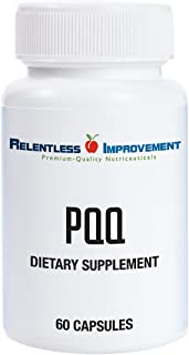 Relentless Improvement PQQ No Silicon Dioxide No Magnesium Stearate No Added Calcium