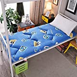 Colchón de cojín de Tatami de futón Grueso japonés Colchón de futón Suave Antideslizante Tapetes de Piso Plegables Dormitorio de Estudiantes Litera Cama para Dormir en casa Almohadillas de Algod