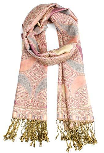 Van Der Rich ® - Pashminas Schal - Damen (Rosa)