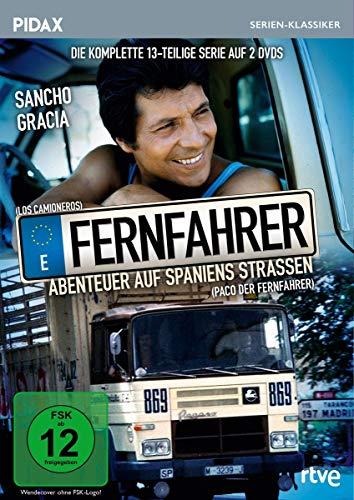 Fernfahrer - Abenteuer auf Spaniens Straßen (Paco, der Fernfahrer) / Die komplette 13-teilige preisgekrönte Kultserie (Pidax Serien-Klassiker)[2 DVDs]