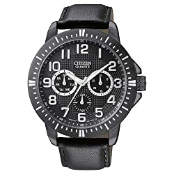 Citizen Quartz AG8315-04E- Day-Date Sports Black Dial Men's Watch - See my reviews