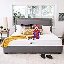 """Sunrising Bedding 8"""" Natural Latex Queen Mattress, Individually Encased Pocket Coil, Firm, Supportive, Naturally Cooling, Organic Mattress, 120-Night Free Trial, 20-Year Warranty"""