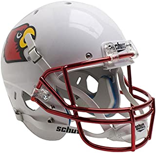 Louisville Cardinals Chrome Mask Officially Licensed Full Size XP Replica Football Helmet