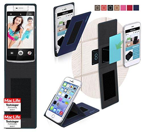 reboon Hülle für Oppo N3 Tasche Cover Case Bumper | Blau | Testsieger