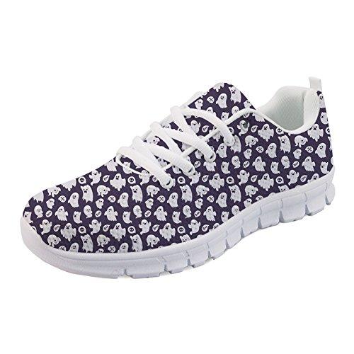 Coloranimal Spring Summer Nurse Flats - Zapatillas de senderismo para mujer, color Multicolor, talla 35 EU