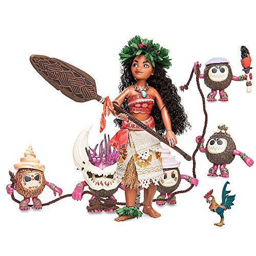 Disney Moana and Heihei Doll Set Designer Fairytale Collection - Limited Edition