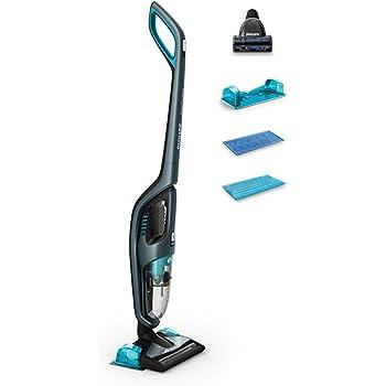 Philips PowerPro Aqua FC6409/01 Aspiradora de palo y escobas eléctricas sin bolsa 3 in 1: Amazon.es: Hogar