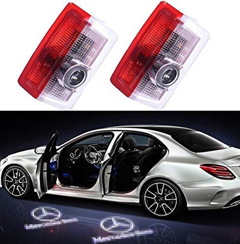 2PCS Kit luci LED Sportello Logo 3D Proiettore Auto Portiere Liuer Lampada di Benvenuto Ghost Shadow Light per Serie 3 4 5 6 7 E90 E91 E92 E93 E60 E61 F13 F10 F11 F07 M5 E63 E64 E65 E66 F01 E70 X6