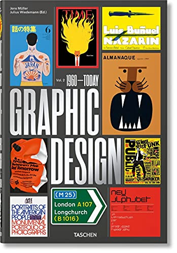 The History of Graphic Design. Vol. 2, 1960–Today (Multilingual Edition)