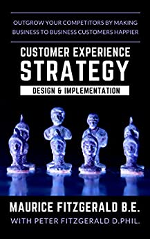 Customer Experience Strategy - Design & Implementation: Outgrow your competitors by making your business to business customers happier (Customer Strategy Book 1) by [Maurice FitzGerald, Peter FitzGerald]