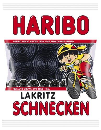 Haribo Lakritz Schnecken Rotella 200 g