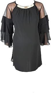 M4M Fashion Maternity Blouses For Women - Black - small