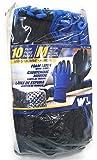 Work Gloves:Foam Latex,size M, 10 Pairs (Medium)