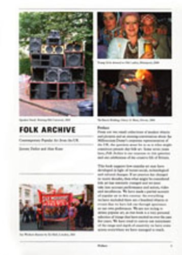 Deller, J: Folk Archive: Contemporary Popular Art from the UK (Opus Projects)