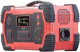 reVolt Solarkonverter: Powerbank & Solar-Konverter, 216 Ah, 800 Wh, 230 V, 12 V, USB, 1.000 W (Solargenerator und Powerbank)