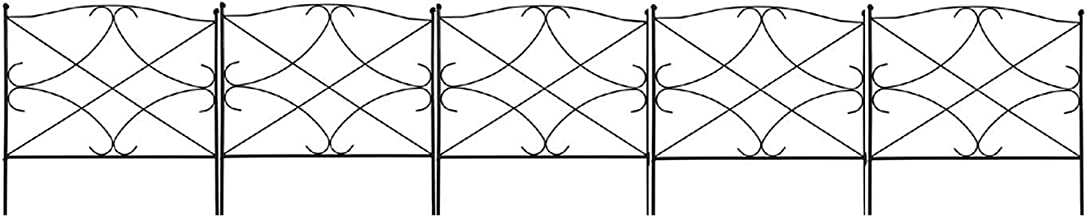 wrought iron fence height