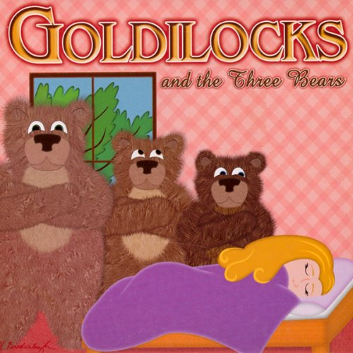 Goldilocks and the Three Bears audiobook cover art