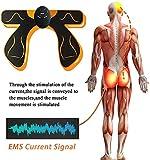 Zoom IMG-2 elettrostimolatore muscolare glutei ems esercizio