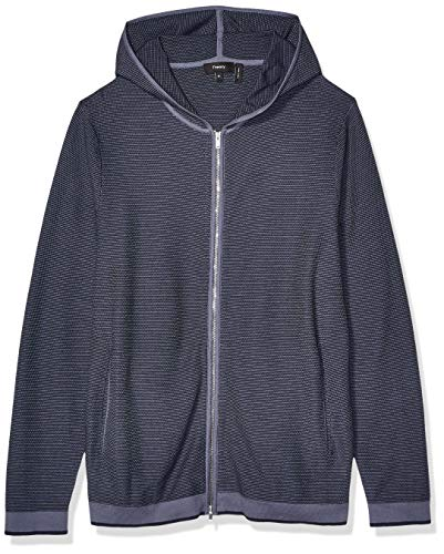 Theory Men's Braghe Hooded Nilos Sweatshirt, Reef Multi, M