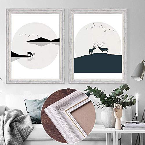 Marco De Fotos De Gran Tamaño/Se Puede Colgar En La Pared/Pared De Fotos/Pared De Exhibición / A4 / Plexiglás/Marco De Espejo De Decoración De Pared 15x21 Inch(38x53cm)